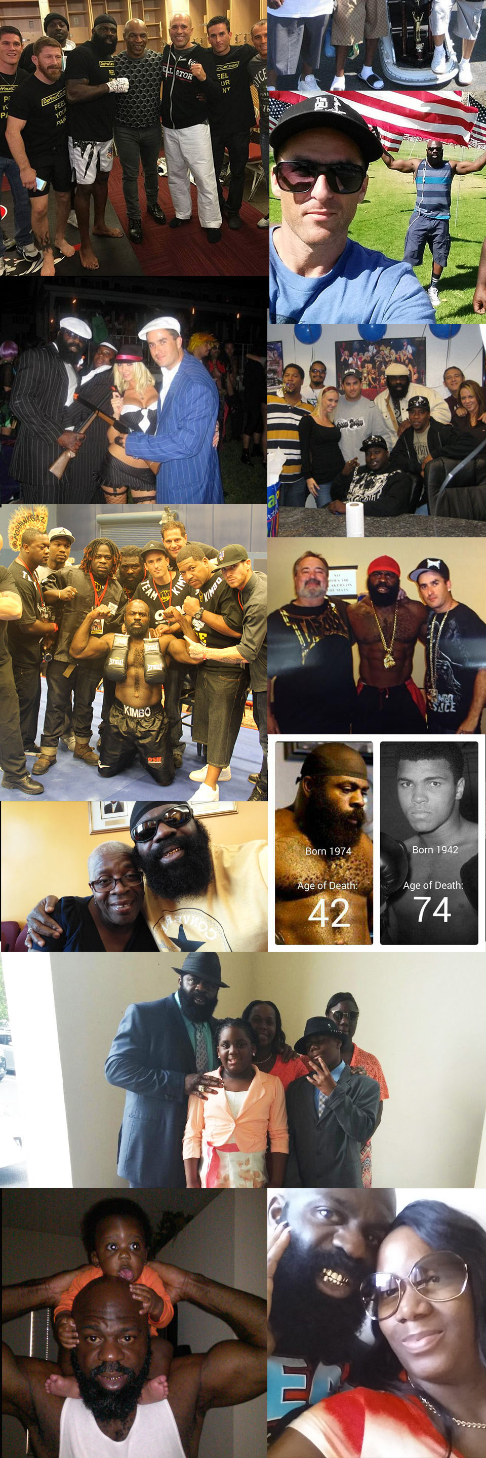 Kimbo Slice Family Photos